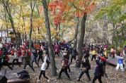 제18회 성주산 단풍축제 및 단풍길 걷기대회 개최