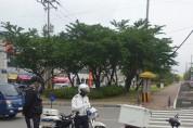 보령경찰서, 싸이카 합동 교통법규 위반 집중단속 실시