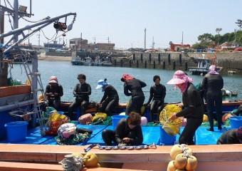 5개 도서지역 해녀 안전 위한 해녀복 등 잠수장비 지원